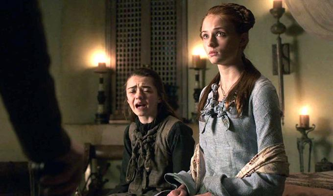 Via http://images5.fanpop.com/image/photos/32000000/Sansa-and-Arya-sansa-and-arya-stark-32014657-1280-720.jpg