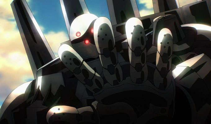 Via https://vignette.wikia.nocookie.net/animevice/images/4/4c/Metal_Knight_%28One-Punch_Man_Ep_07%29.jpg/revision/latest?cb=20151119031931