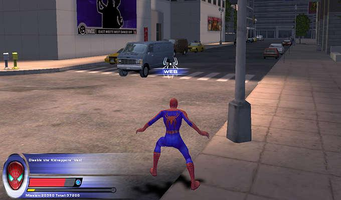 Via http://www.mobygames.com/images/shots/l/130496-spider-man-2-the-game-windows-screenshot-disable-the-kidnappers.jpg