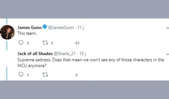 Via https://twitter.com/jamesgunn/status/1007464799364509696?s=21