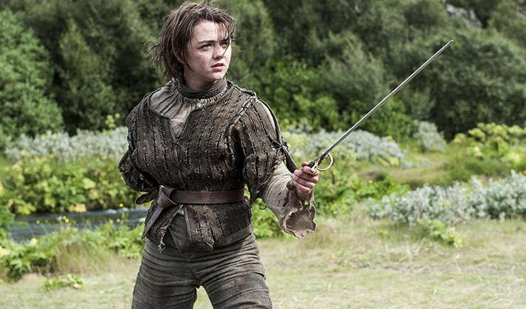 Via https://vignette.wikia.nocookie.net/gameofthrones/images/1/1e/Arya_Stark-First_of_his_Name.jpg/revision/latest?cb=20140505224634