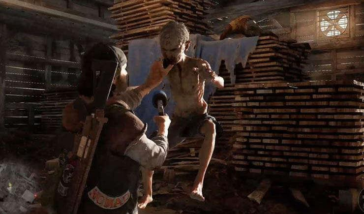 Via https://vignette.wikia.nocookie.net/daysgone/images/2/23/Deacon_being_attacked_by_a_Newt.jpg/revision/latest?cb=20190415203621