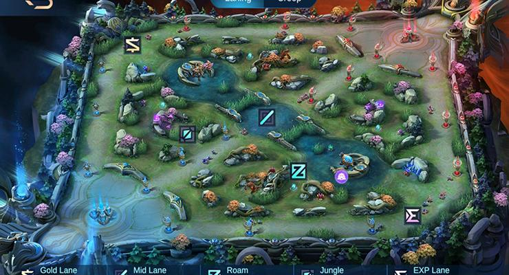 Gameplay baru Mobile Legends.