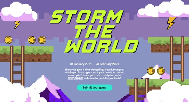 Turnamen Storm the Worlds 2021.