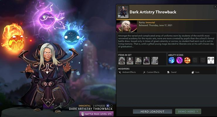Invoker Persona Acolyte of the Lost Arts.