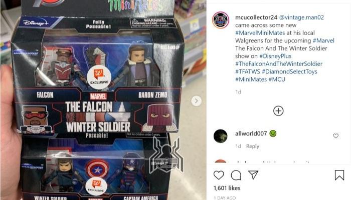 Mainan Falcon and Winter Soldier Bocorkan Sosok Captain America Baru