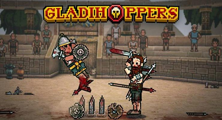 Game Tarung Android Gladihoopers.