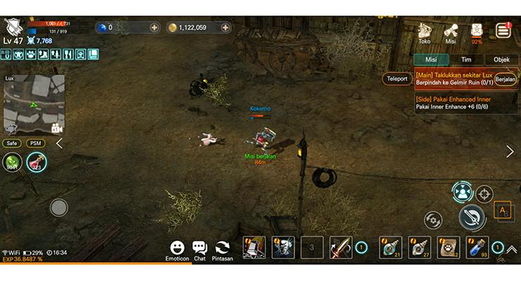 Gameplay EOS RED.
