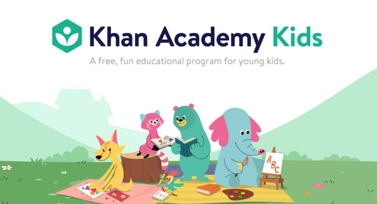 Game android untuk anak Khan Academy Kids.