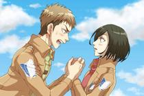 Mikasa dan Jean Menikah di Ending Alternatif Attack on Titan?