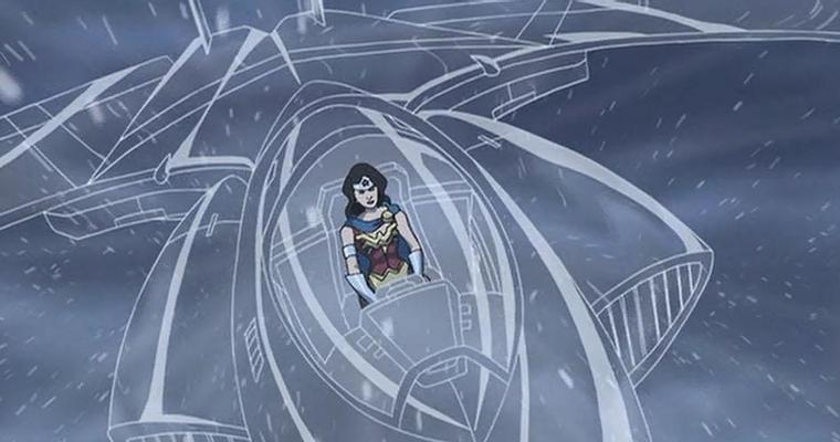 Invisible Plane, Pesawat Ajaib Wonder Woman