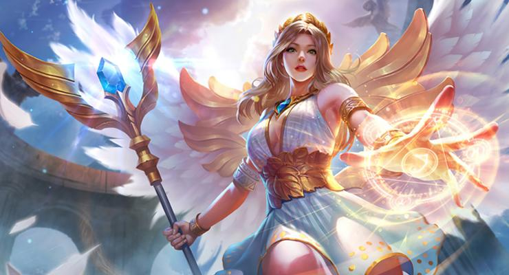 Hero support Rafaela.