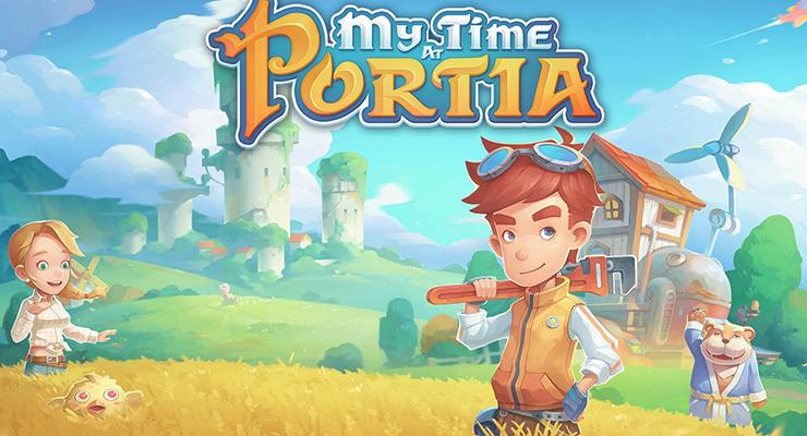 Game Android My Time at Portia.