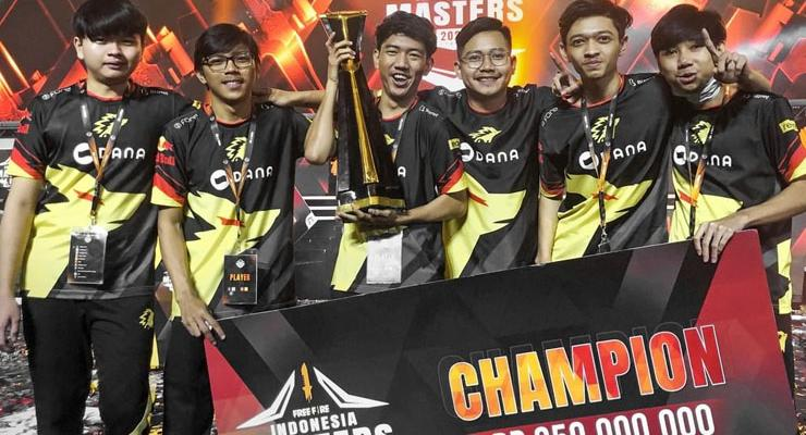 ONIC - Nominasi Tim Esports Terfavorit Indonesian Esports Awards 2020
