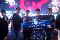 (Mobile Legends) Louvre Patahkan Kutukan Runner Up di Clash of Titans 2019