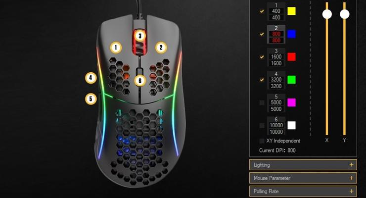 DPI Mouse Gaming.