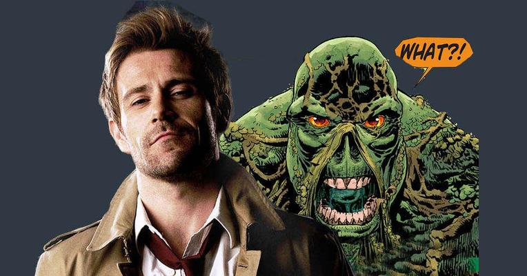 Matt Ryan Berharap Constantine Muncul di Serial Swamp Thing