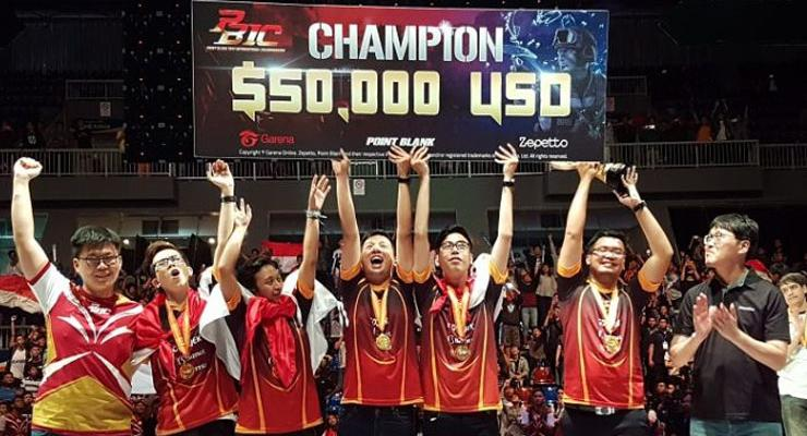 RRQ Endeavour jadi tim legenda di Point Blank
