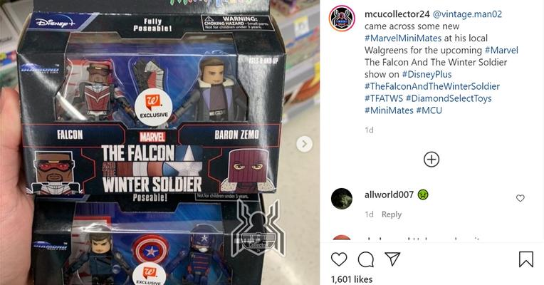 Mainan Falcon and Winter Soldier