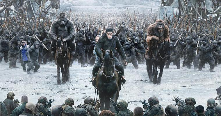 War for the Planet of the Apes Puncaki Box Office Amerika