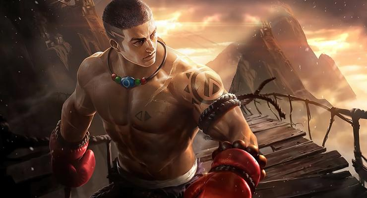 Fighter Mobile Legends Paquito.