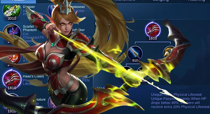 Haas's Claw Mobile Legends.