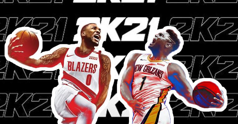 Damian Lillard dan Zion Williamson Jadi Sampul NBA 2K21