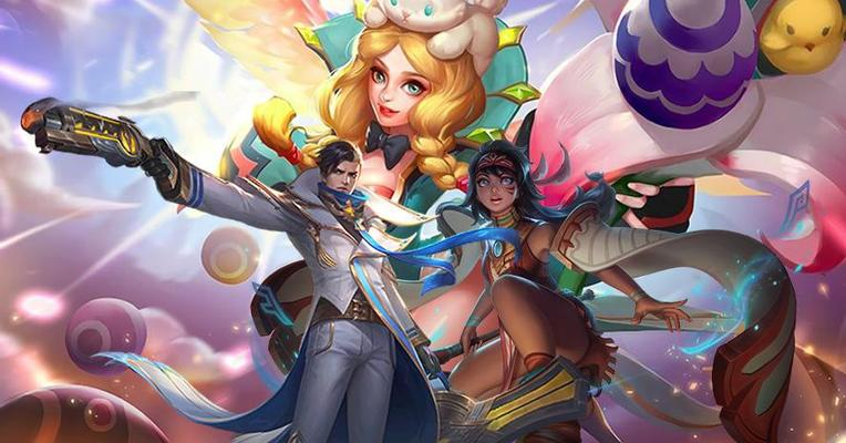 (Mobile Legends) Combo Trio Mid Paling GG se-Land of Dawn!