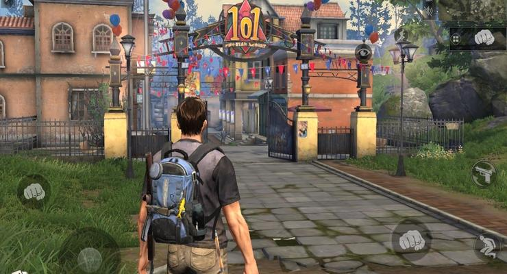 Game open world zombie.