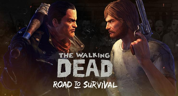 Game mobile The Walking Dead.