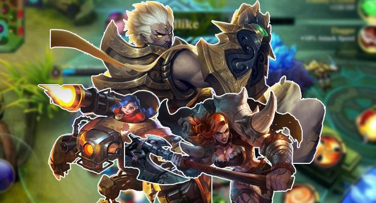 Fighter/Tank rusuh Mobile Legends.