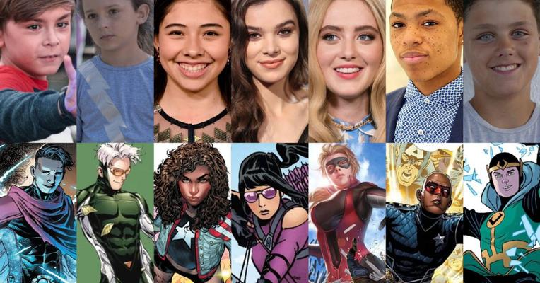 Young Avengers Members Cast