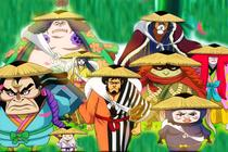 (One Piece) 5 Fakta Nine Red Scabbards, Geng Samurai Kuat dan Setia