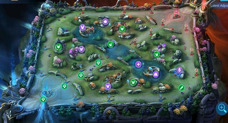 Map Land of Dawn Mobile Legends.