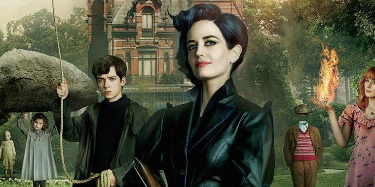 Miss Peregrine's House for Peculiar Children, Bentuk Dedikasi Tim Burton