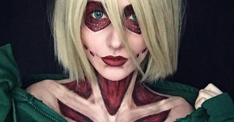 Cosplay Annie Leonhart Attack on Titan